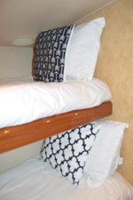 Starboard Guest Stateroom Bunks