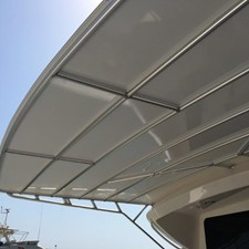 Carbon Fibre Bimini Painted White