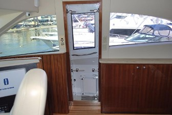 Door to starboard side