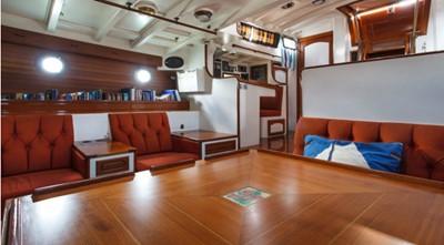 COPIHUE 2 COPIHUE 1989 WILLIAMS BOAT WORKS Custom Cuttyhunk 54 Ketch Cruising Ketch Yacht MLS #247613 2