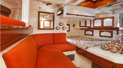 COPIHUE 4 COPIHUE 1989 WILLIAMS BOAT WORKS Custom Cuttyhunk 54 Ketch Cruising Ketch Yacht MLS #247613 4