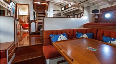 COPIHUE 1 COPIHUE 1989 WILLIAMS BOAT WORKS Custom Cuttyhunk 54 Ketch Cruising Ketch Yacht MLS #247613 1