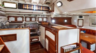 COPIHUE 6 COPIHUE 1989 WILLIAMS BOAT WORKS Custom Cuttyhunk 54 Ketch Cruising Ketch Yacht MLS #247613 6