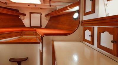 COPIHUE 5 COPIHUE 1989 WILLIAMS BOAT WORKS Custom Cuttyhunk 54 Ketch Cruising Ketch Yacht MLS #247613 5