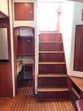 Jade Sky 20 Stairway from Helm Deck