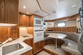 CREW LOUNGE AND GALLEY