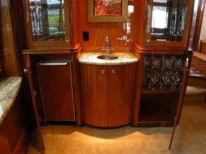 SECOND GENERATION 15 Bar and Stemware Cabinet