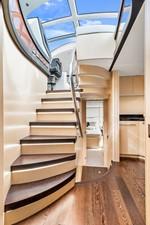 Sunseeker Predator 68 - Stairs to lower deck