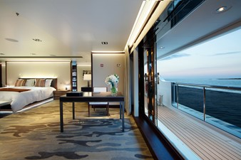 Master Stateroom Opens to Outside Deck