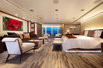 PLANET NINE 5 Master Stateroom Looking to Port
