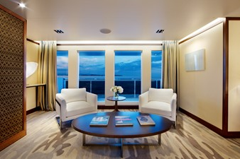 PLANET NINE 7 Sitting Area in Master Stateroom