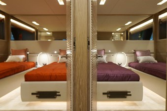 Mirrored Twin Guest Staterooms