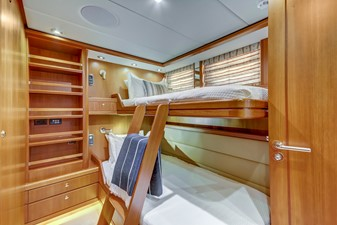 GUSTO 19 Twin Guest Bunks