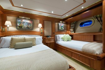 Green Guest Stateroom