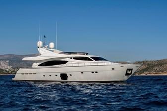 DAY OFF 0 DAY OFF 2006 FERRETTI YACHTS 881 Motor Yacht Yacht MLS #245388 0