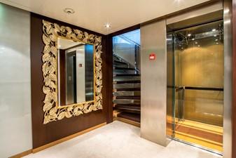 ASTRID CONROY 41 Lobby Elevator lowerdeck