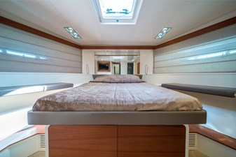 Itama 75 2011 for sale forward VIP cabin with ensuite bathroom