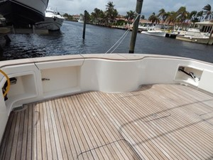 Aft Deck Transom Door and Livewell