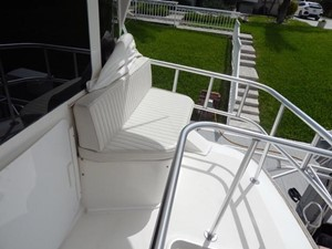 One More Time 40 Flybridge Seating