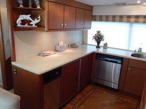 One More Time 19 Counter Refrigeration / Teak Flooring