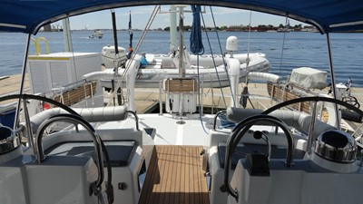 Looking Aft from Helm