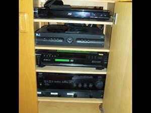 Salon Entertainment Cabinet