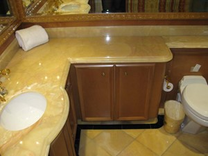 True North 16 Master Stateroom Bath