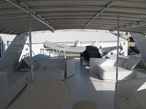 Flybridge Looking Aft