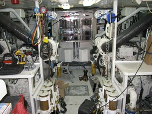 True North 61 Engine Room