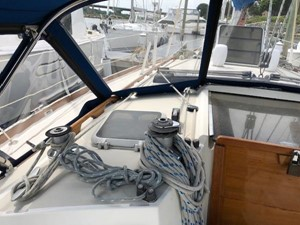 Port side Cabin top winches