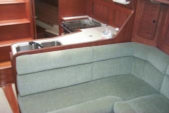 Main cabin settee