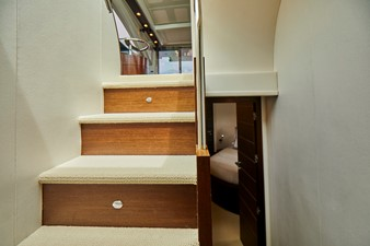Stairs to galley