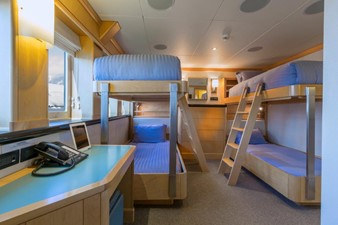 One Of Four Twin Staterooms In Bunk Configuration