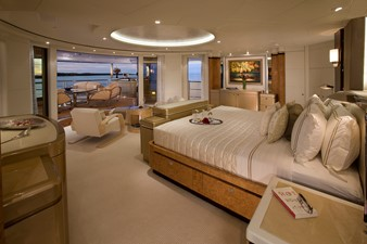 Bridge Deck Master Stateroom Looking Aft