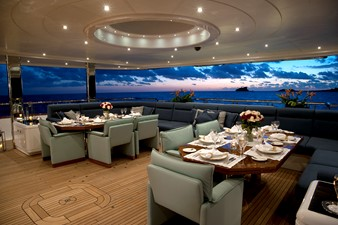 Main Aft Deck, Tables Join Together
