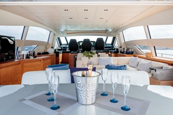 FOR EVER 5 FOR EVER 2008 PERSHING  Motor Yacht Yacht MLS #247158 5