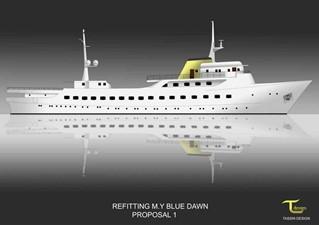 BLUE DAWN 2 BLUE DAWN 1959 SCHEEPSWERT  Motor Yacht Yacht MLS #240628 2