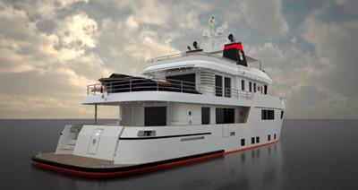 Ocean King Americana 7 Starboard Quarter