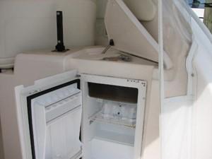 Kruz'n Susan 12 Helm Area Refrigerator and Sink