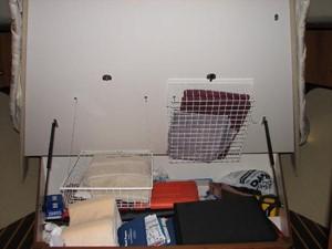 Kruz'n Susan 21 Owner's Stateroom Under Berth Storage