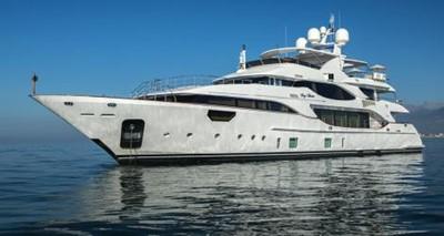 Soy Amor 1 Soy Amor 2014 BENETTI Crystal 140 Motor Yacht Yacht MLS #248992 1