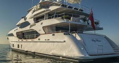 Soy Amor 2 Soy Amor 2014 BENETTI Crystal 140 Motor Yacht Yacht MLS #248992 2