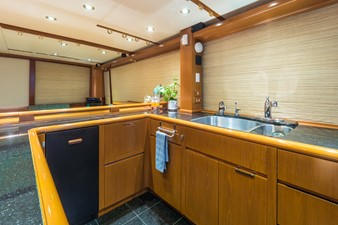 Galley Looking to Starboard
