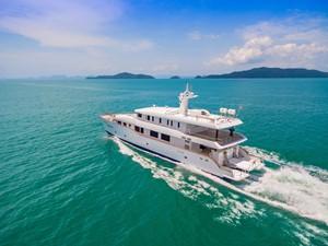 PHATSARA 1 PHATSARA 2012 SILKLINE Incat Crowther 37M Power Catamaran Motor Yacht Yacht MLS #249191 1