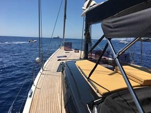 Deck view - Tuscan Spirit - Hanse Yacht & Prima Design Custom Build