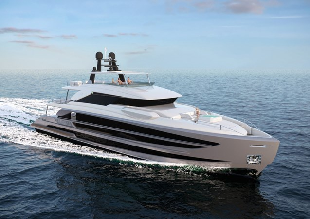 1-FD125-beach-style open aftdeck with pool teaser renderings