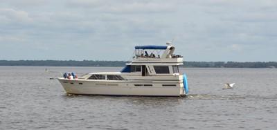 MAE AS WELL 3 MAE AS WELL 1985 CHRIS-CRAFT 500 Constellation Motor Yacht Motor Yacht Yacht MLS #249603 3