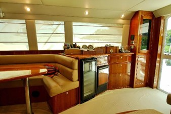 Salon starboard side