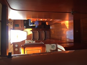 Companionway, Looking Aft from Fwd. Cabin