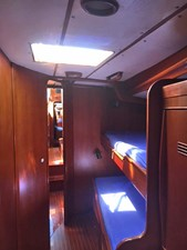 Port Fwd, Cabin, Looking Aft